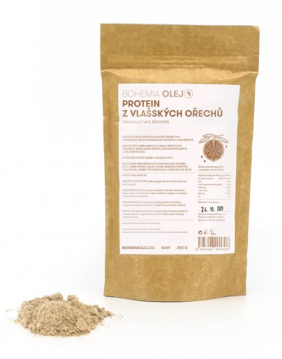 Proteinový prášek z vlašských ořechů 250g